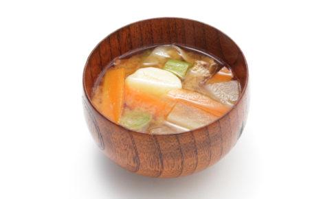 根菜と油揚げのみそ汁