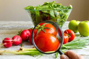 病気の野菜は食べられる