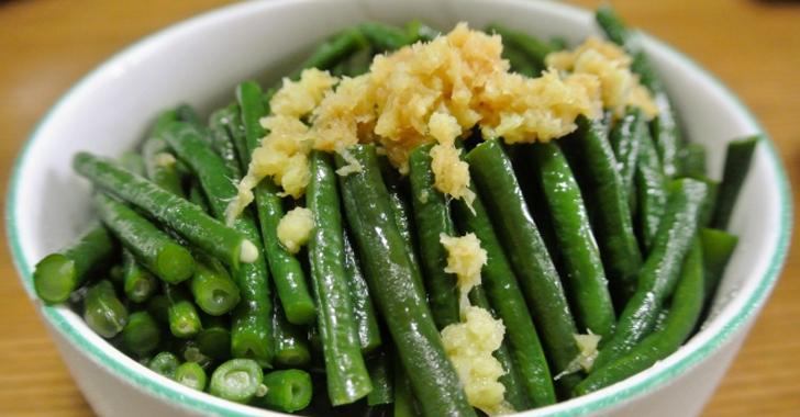 ササゲ豆の料理