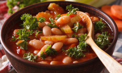 人気のトマトスープ